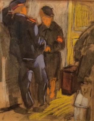 """Baranov N. M. """"Love affair at work."""""""