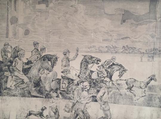 "Devyatkin A. A. ""Horse Racing"""