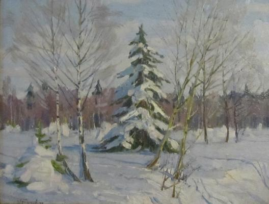 "Grigoryev S. A. ""Russian Winter."""