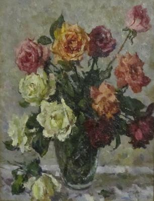 "Puskin D. I. ""Bouquet of roses"""