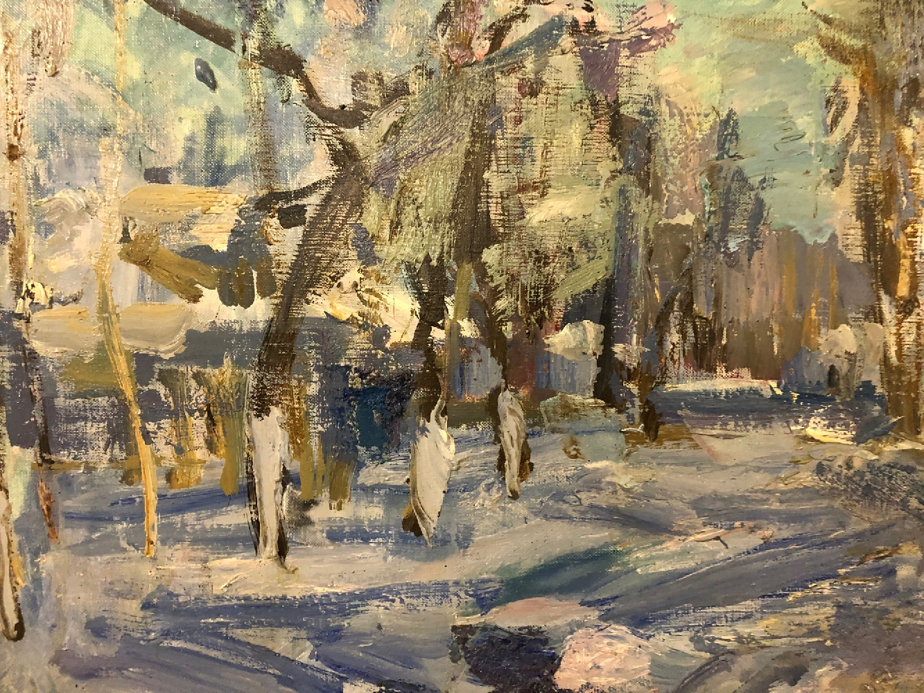 Сысолятин Георгий Андреевич. Пейзаж