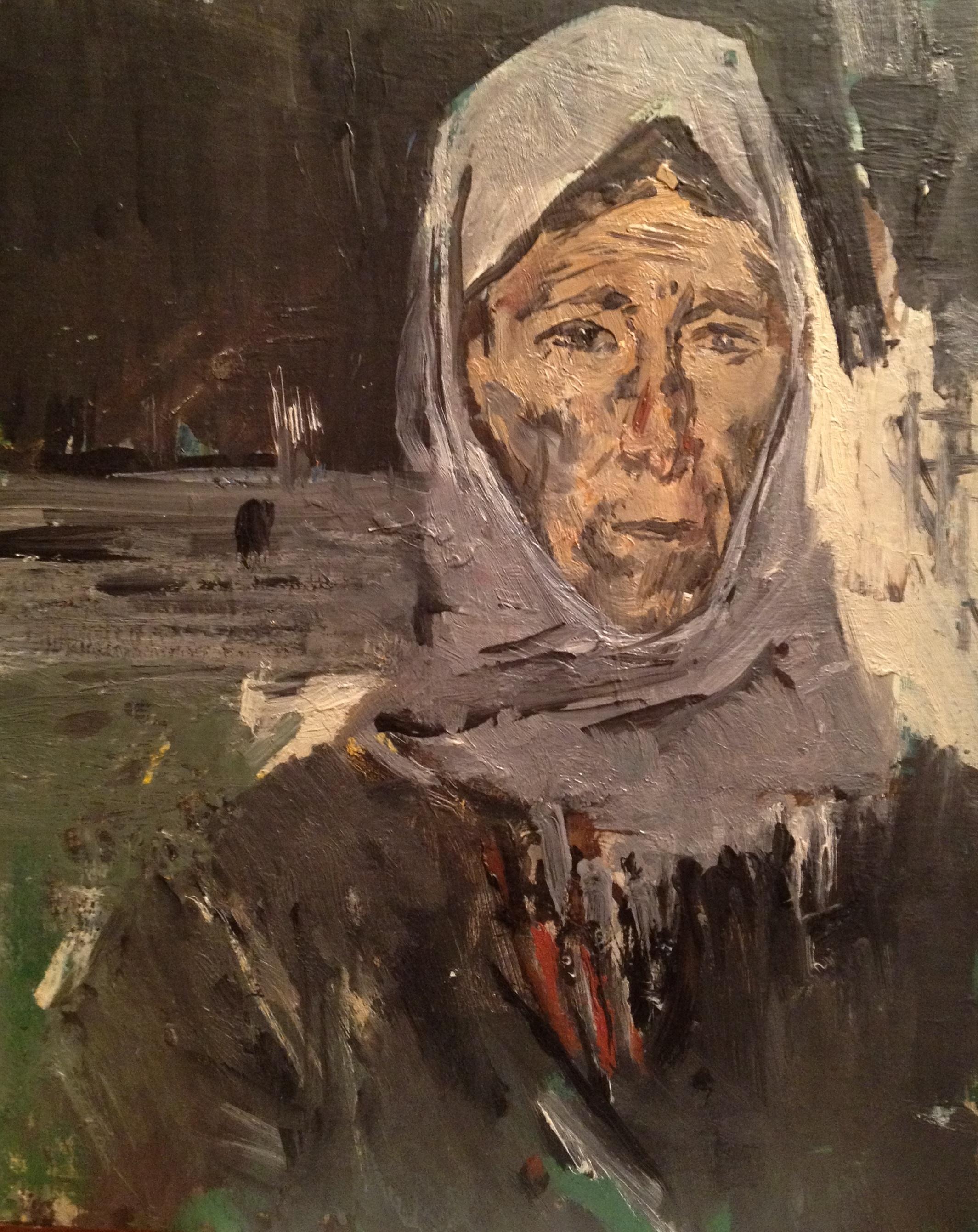 Моисеенко Евсей Евсеевич. Солдатская мать.