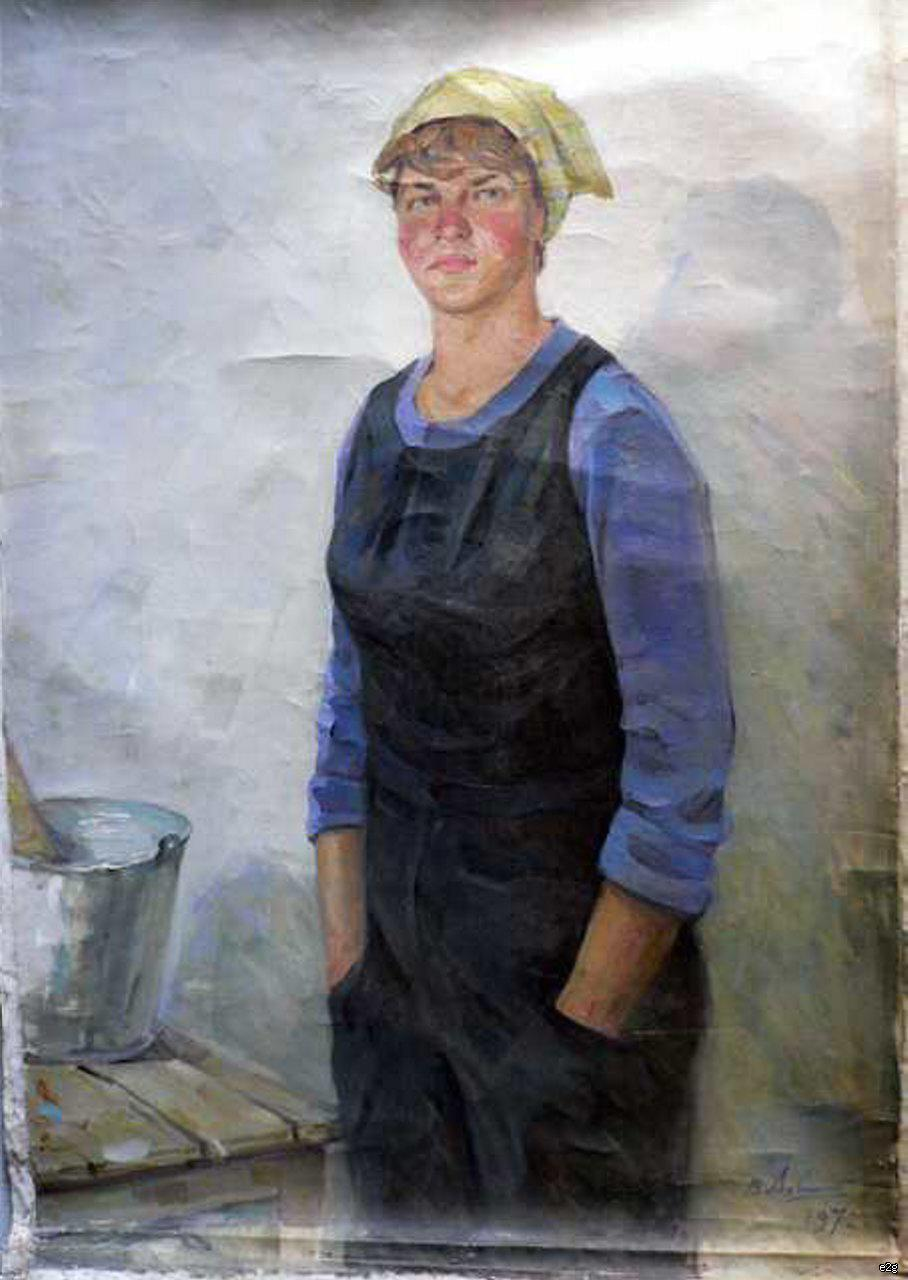 Ахвледиани Елена Дмитриевна. Маляр.