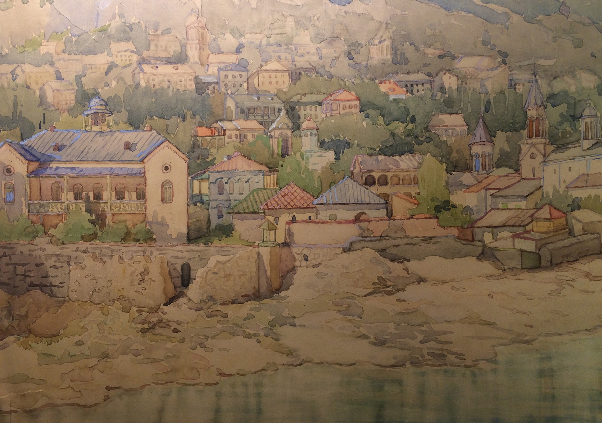 Джапаридзе Вахтанг Ношреванович. Старая часть Тбилиси.