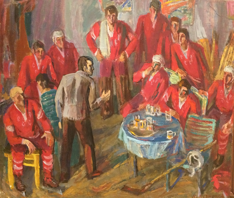 Кузнецов Юрий Михайлович. Хоккеисты