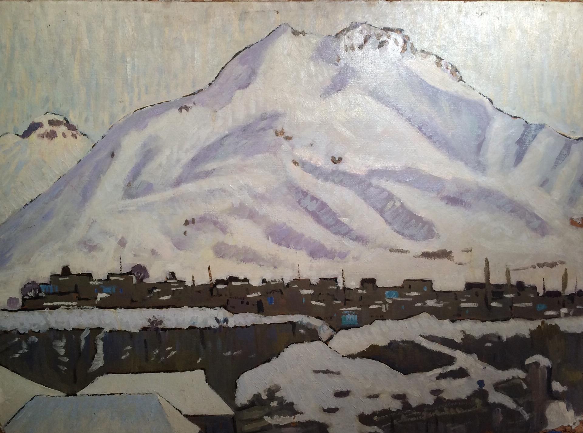 Ефимов Омар Ибрагимович. Зима в горах.