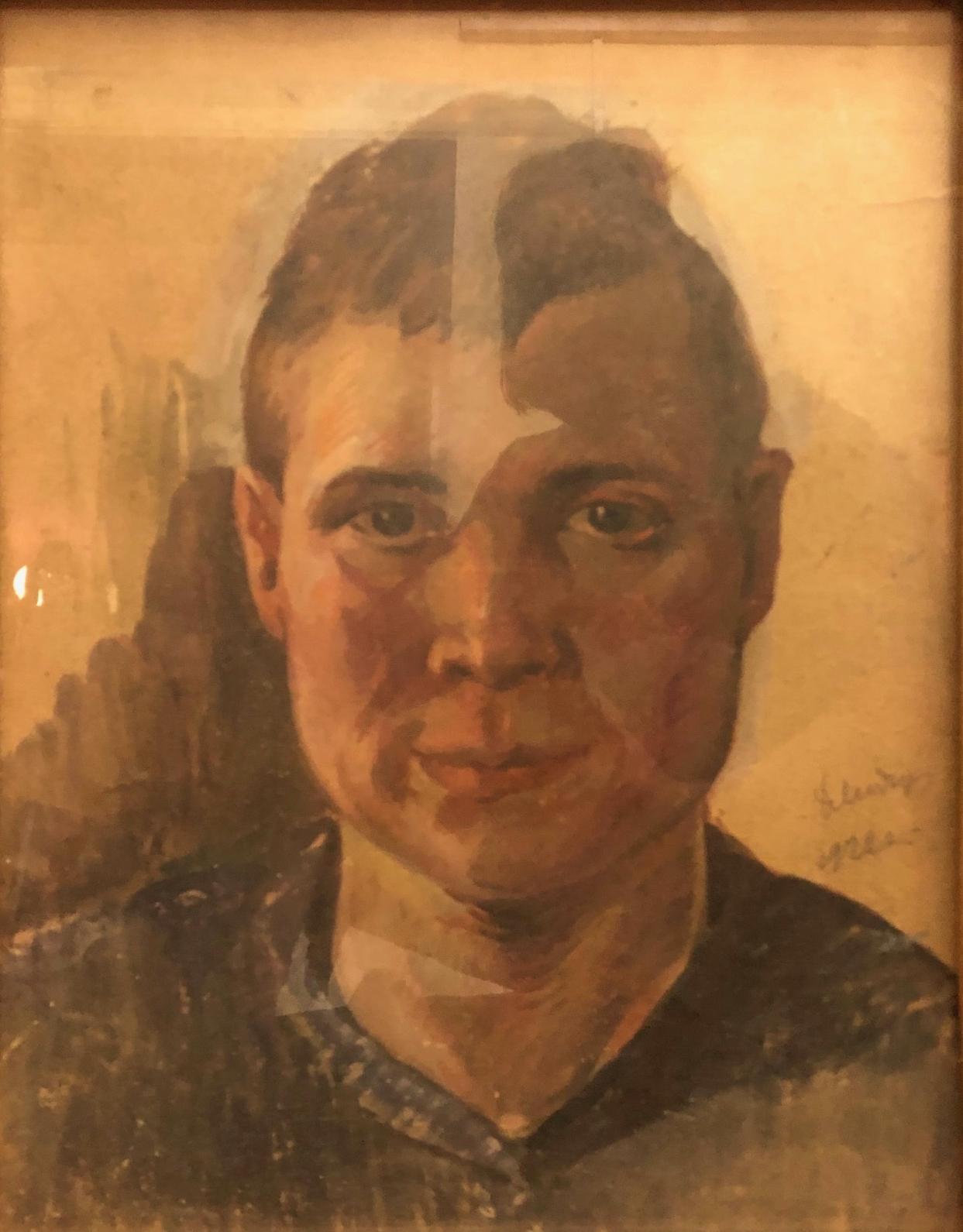 Модоров Федор Александрович. Мужской портрет