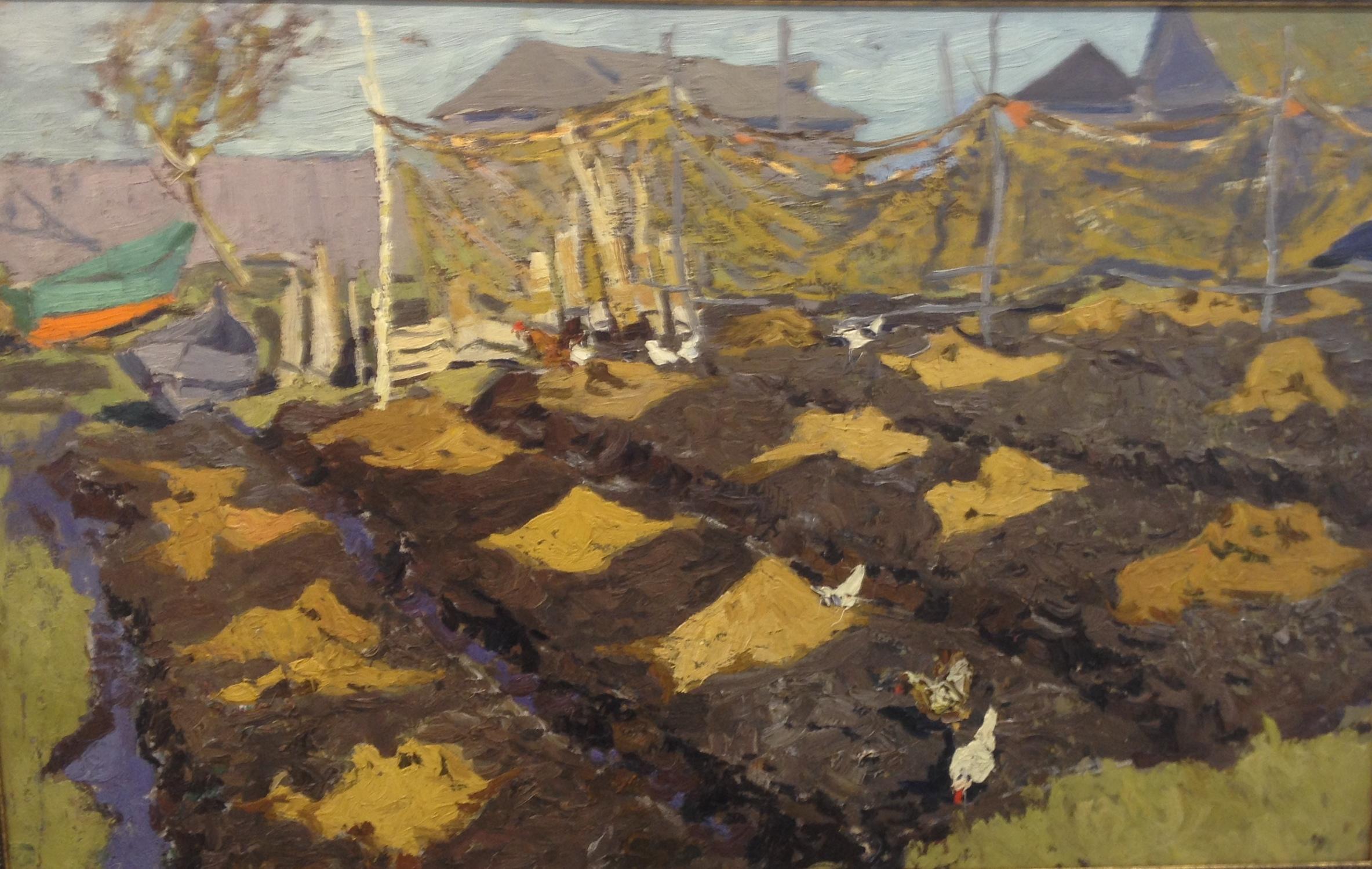 Сафонов Вениамин Алексеевич. Деревня