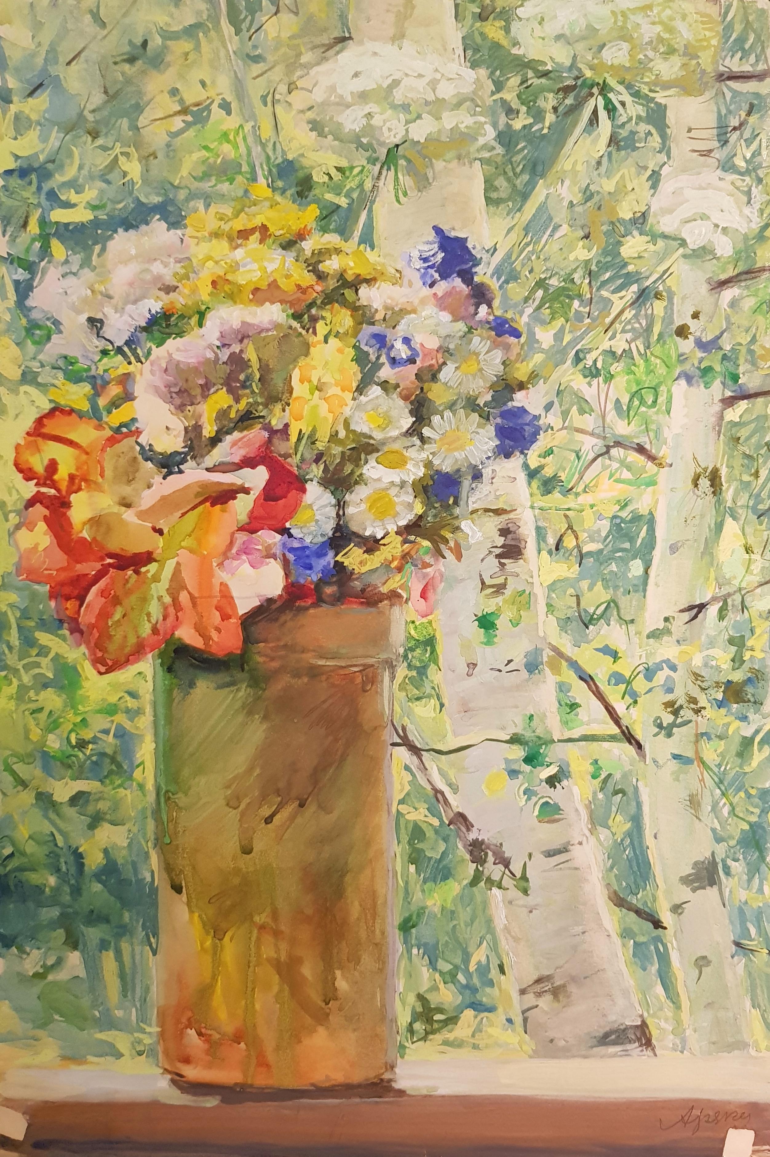 Хряков Александр Федорович. Полевые цветы