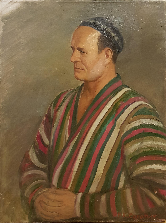 Соломин Николай Константинович. Этюд. Узбекские мотивы
