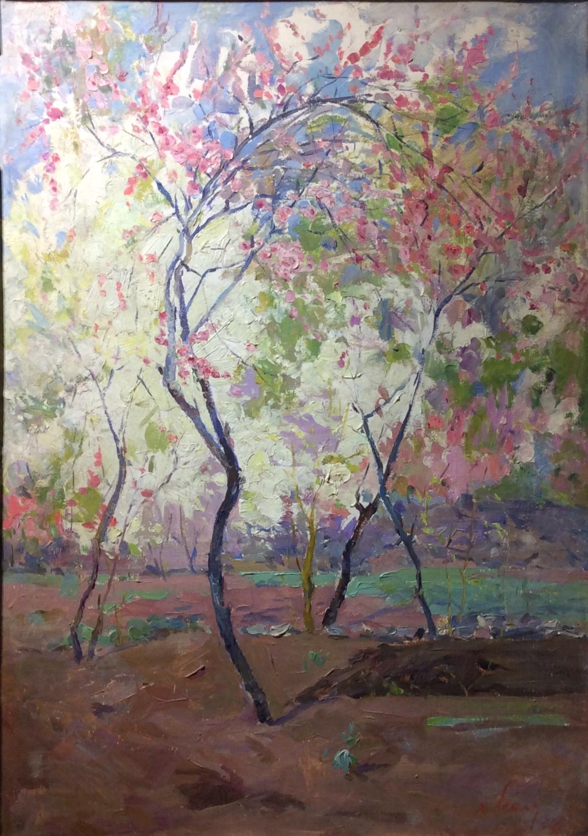 Есаян Хачатур Акопович. Цветущий сад