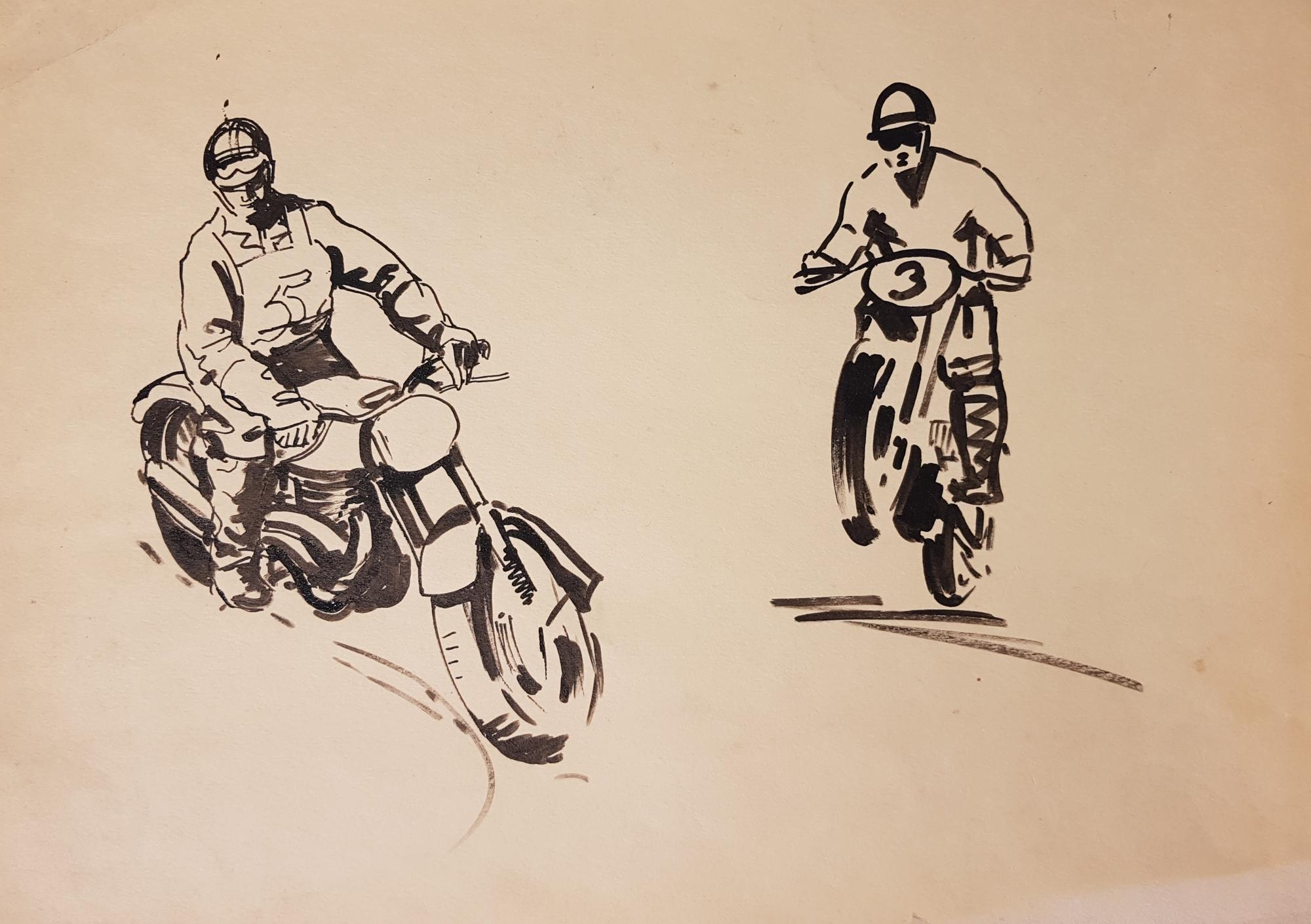 Щербинин Виктор Владимирович. Гонки на мотоциклах