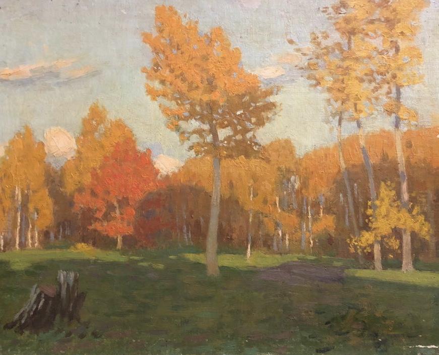 Холявин (Халявин) Николай Федорович. Осень золотая