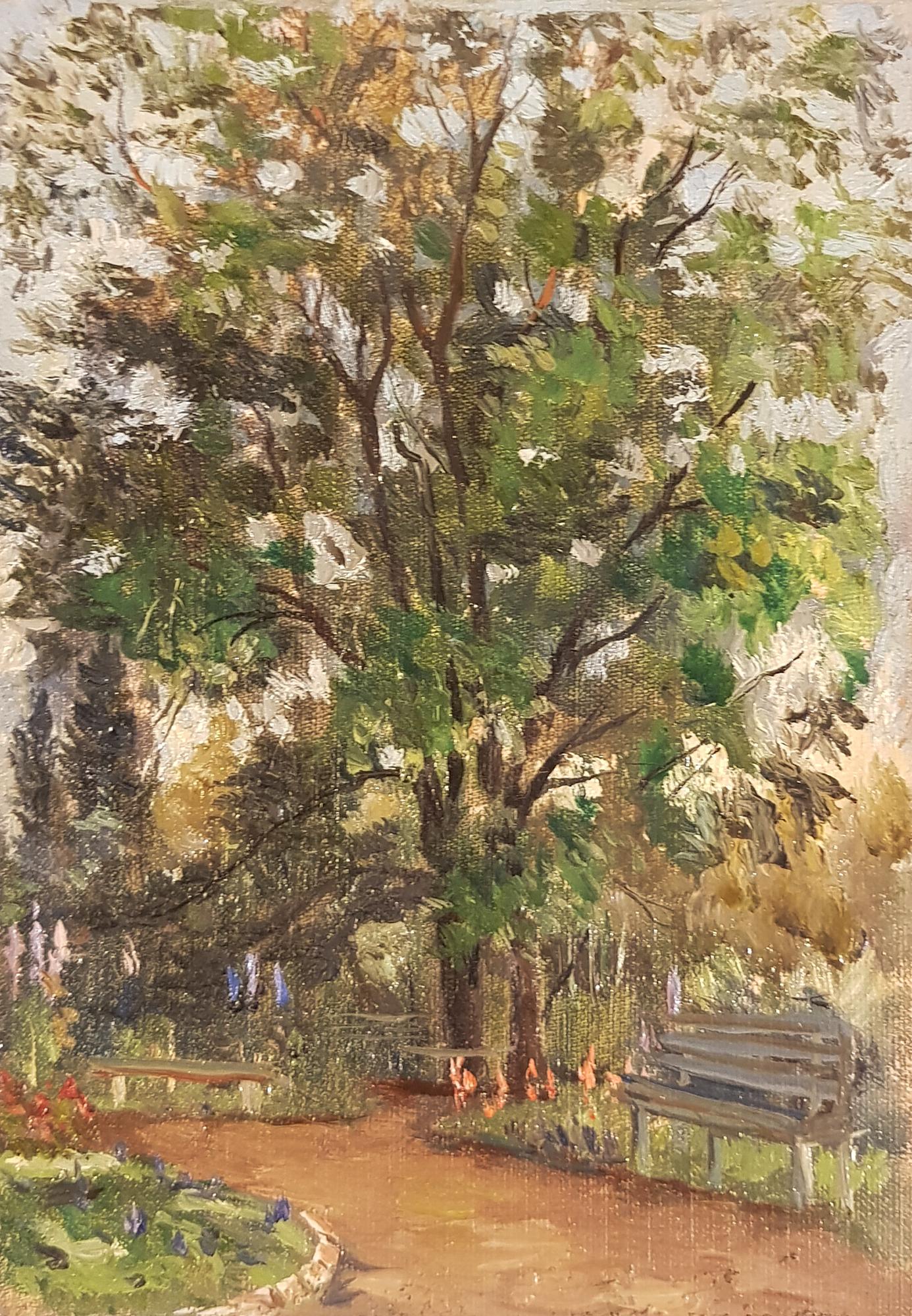 Кибардин Георгий Владимирович. В саду