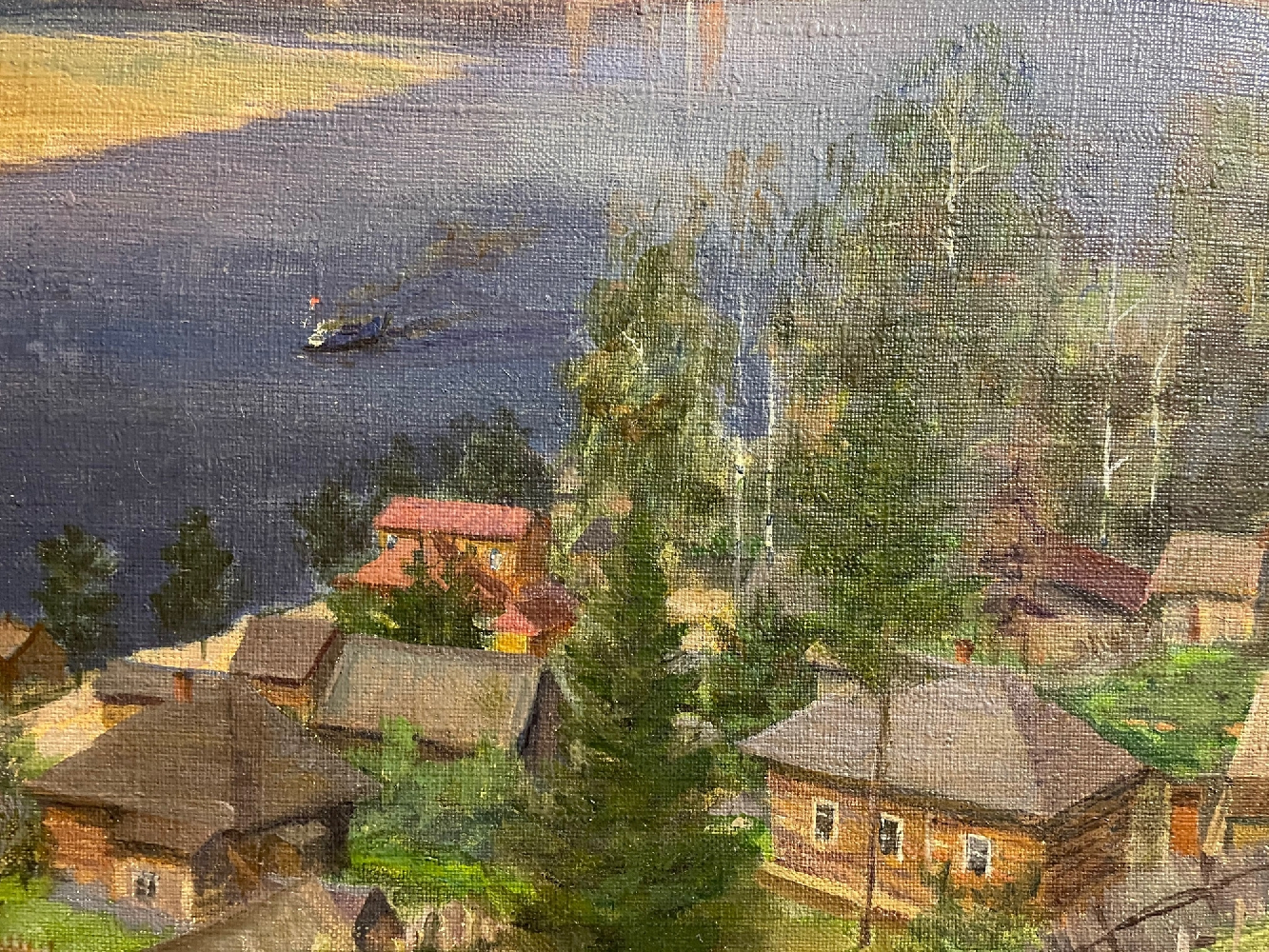 Кибардин Георгий Владимирович. Любуются видом