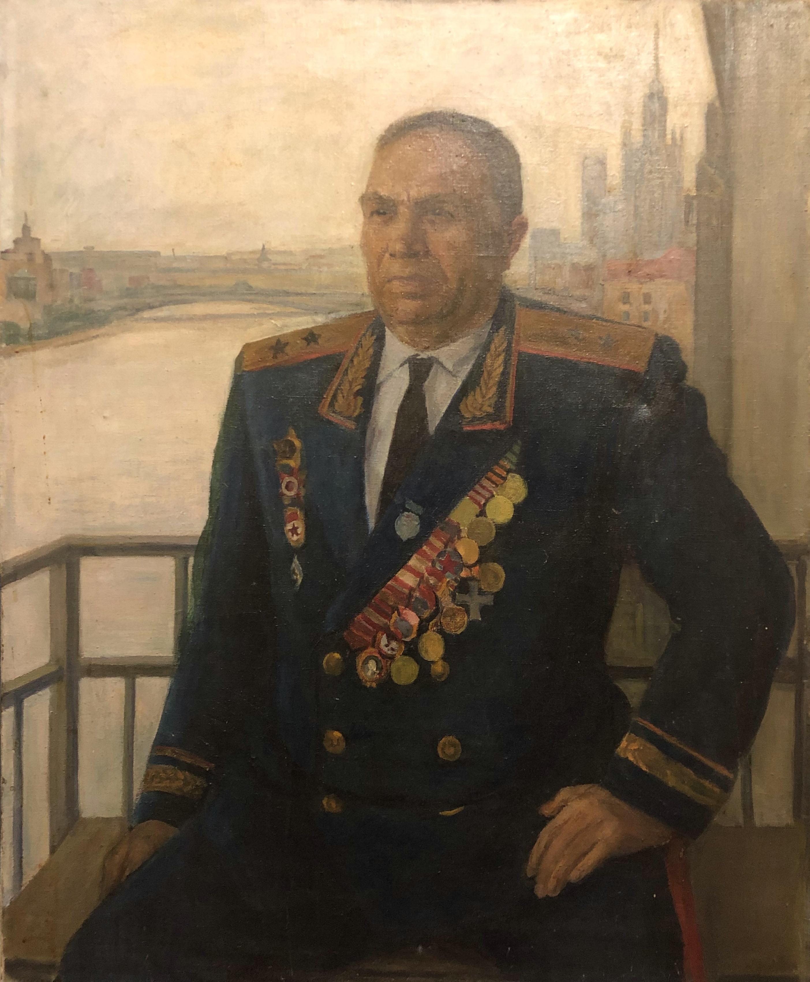 Лекомцев Константин Михайлович. Ветеран
