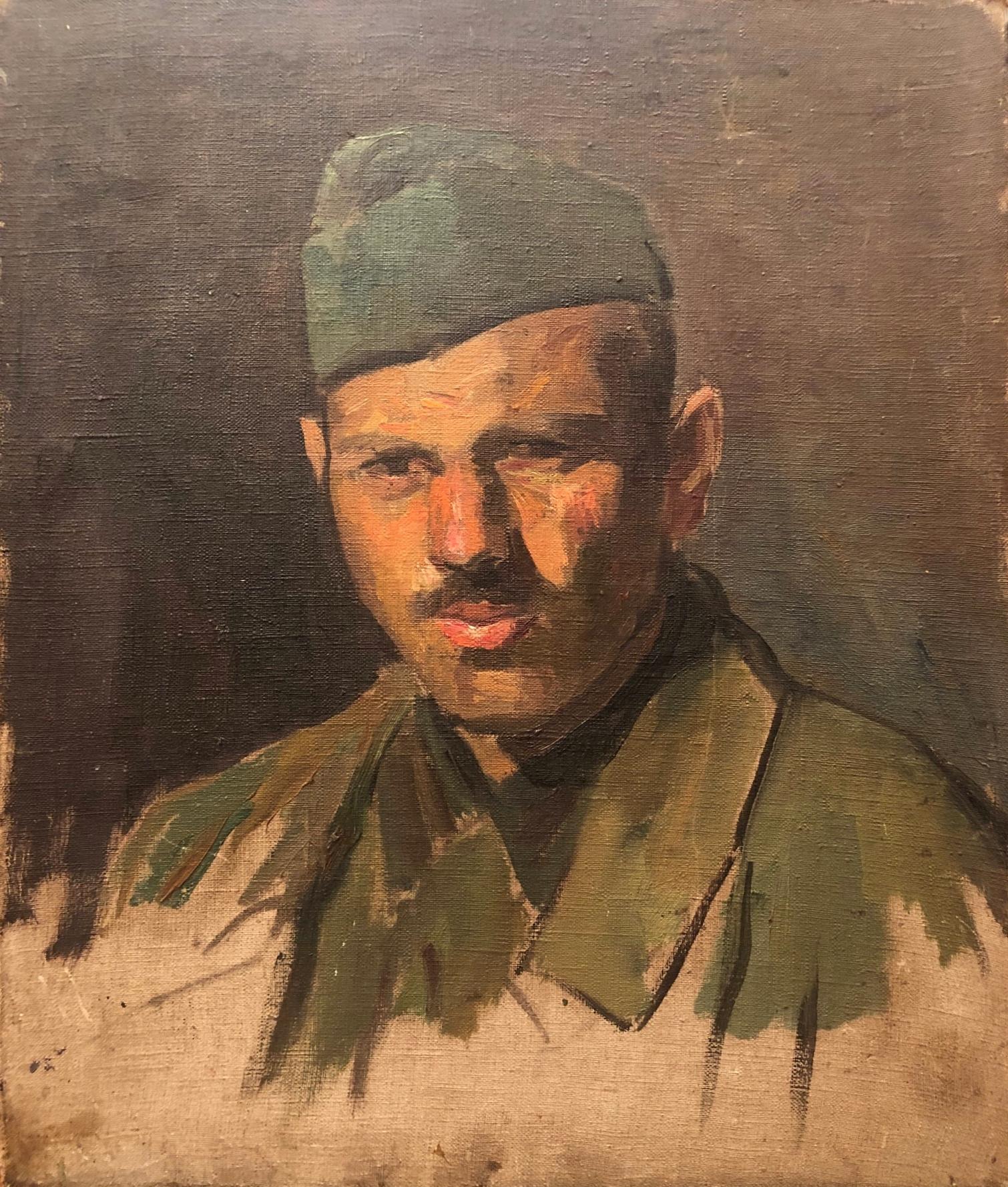 Лекомцев Константин Михайлович. Солдат