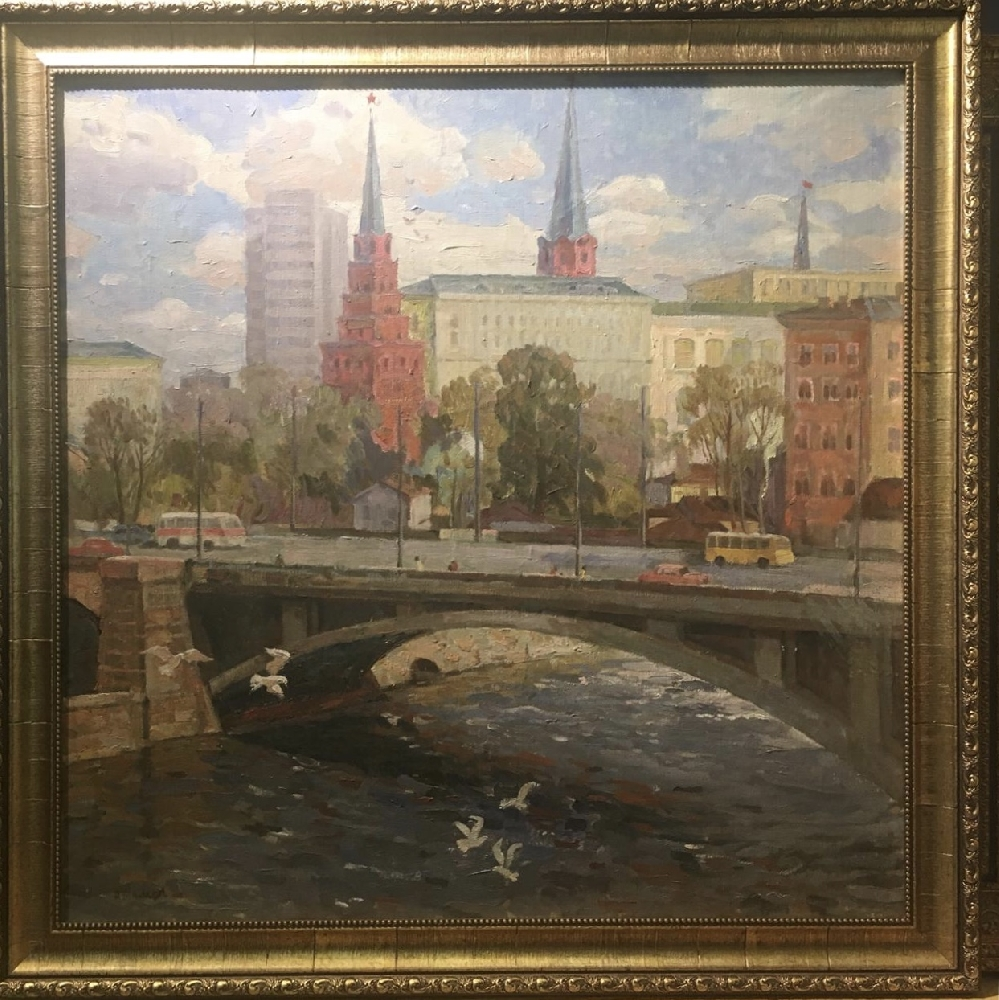 Талеев Александр Матвеевич. Башни Кремля