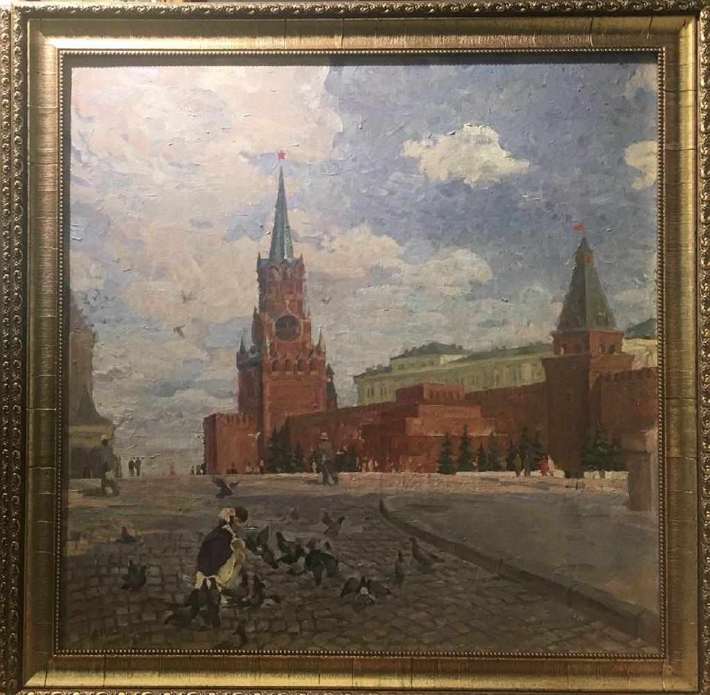 Талеев Александр Матвеевич. Красная площадь