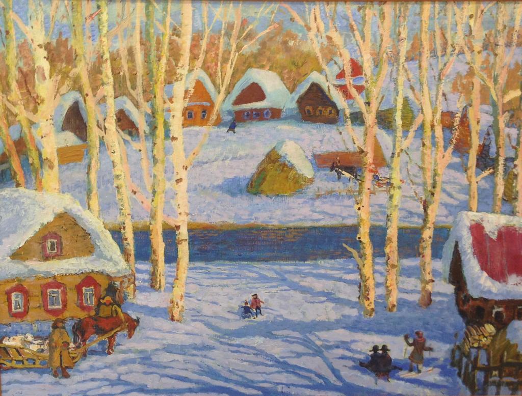 Митюков Игорь Иванович. Зима