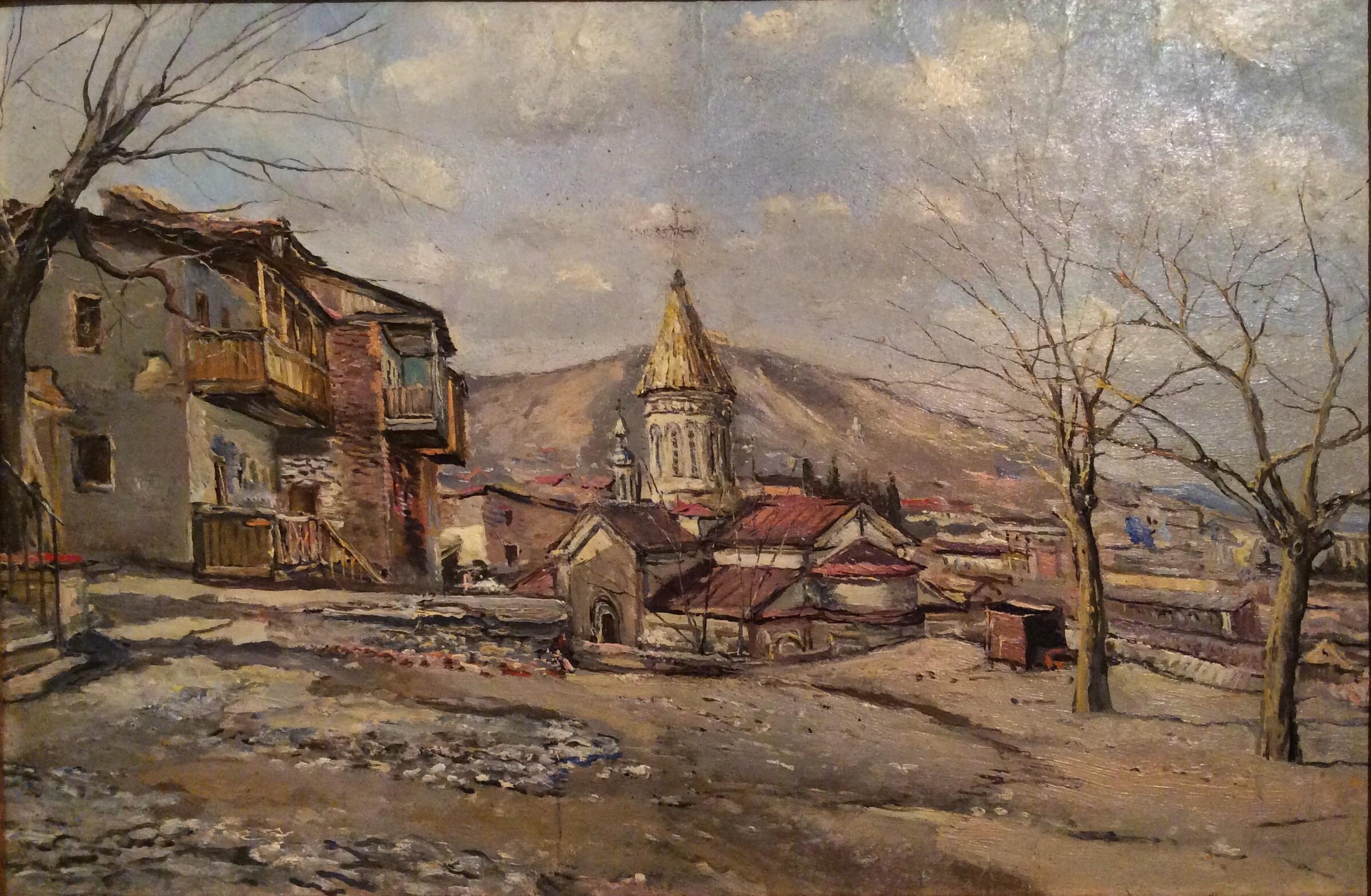Радимова Татьяна Павловна. Горное село в Грузии