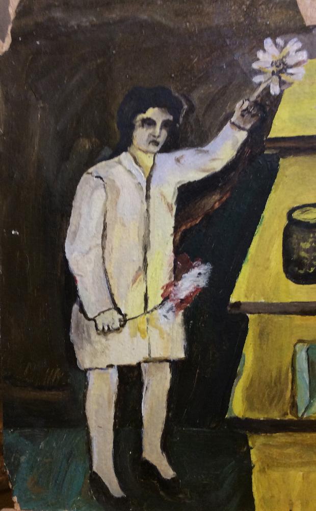 Леонов Павел Петрович. В магазине