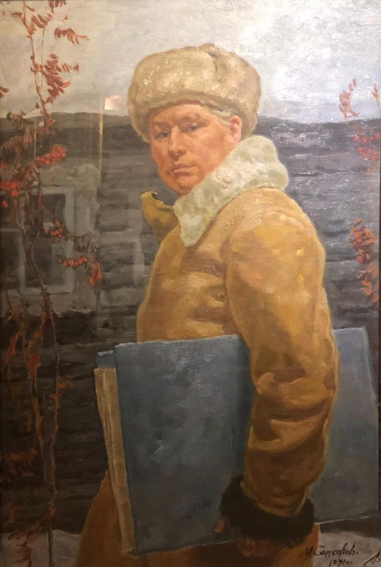 Самсонов Марат Иванович. Автопортрет
