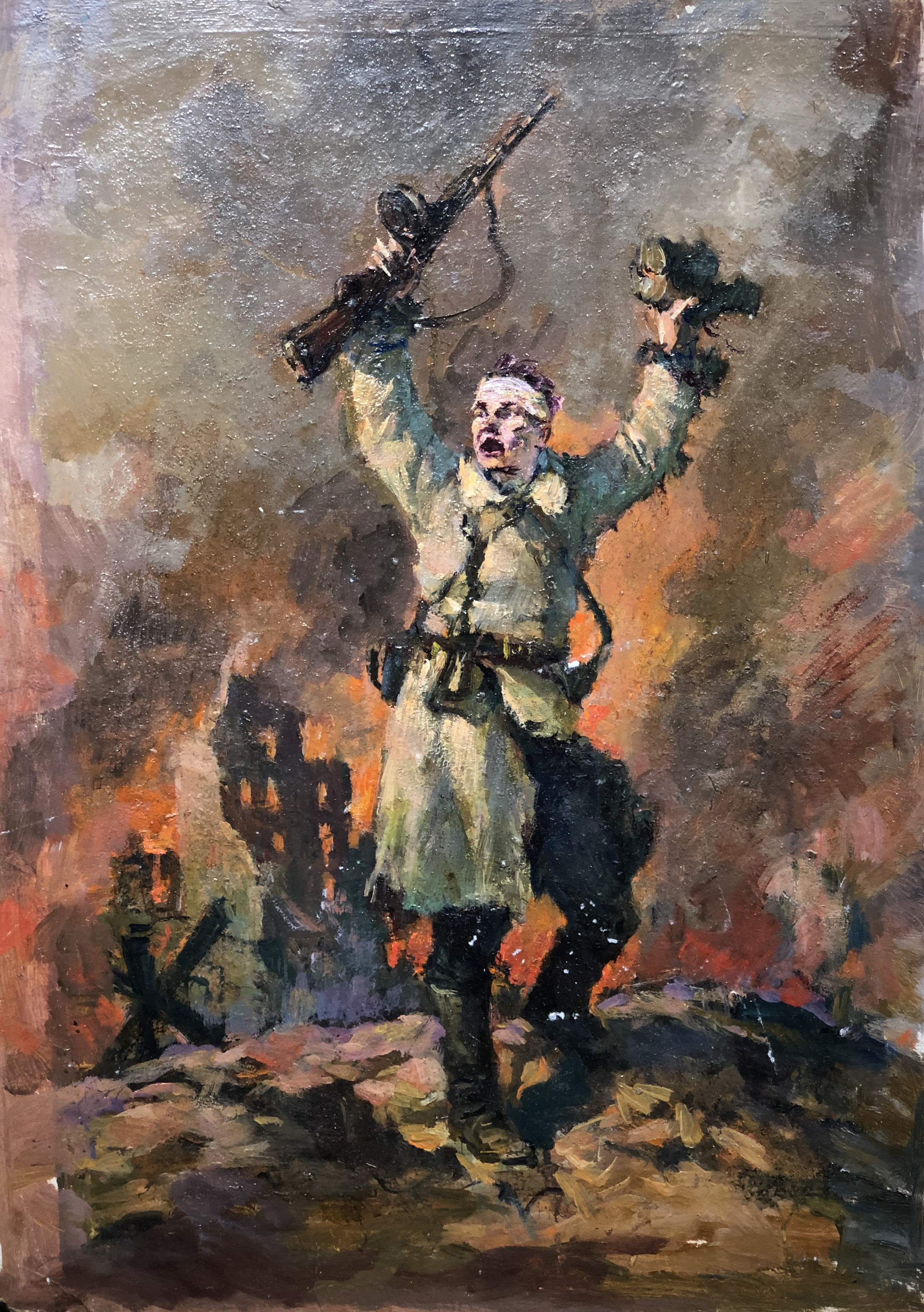 Ванециан Арам Врамшапу. Сталинград наш и остаётся нашим!