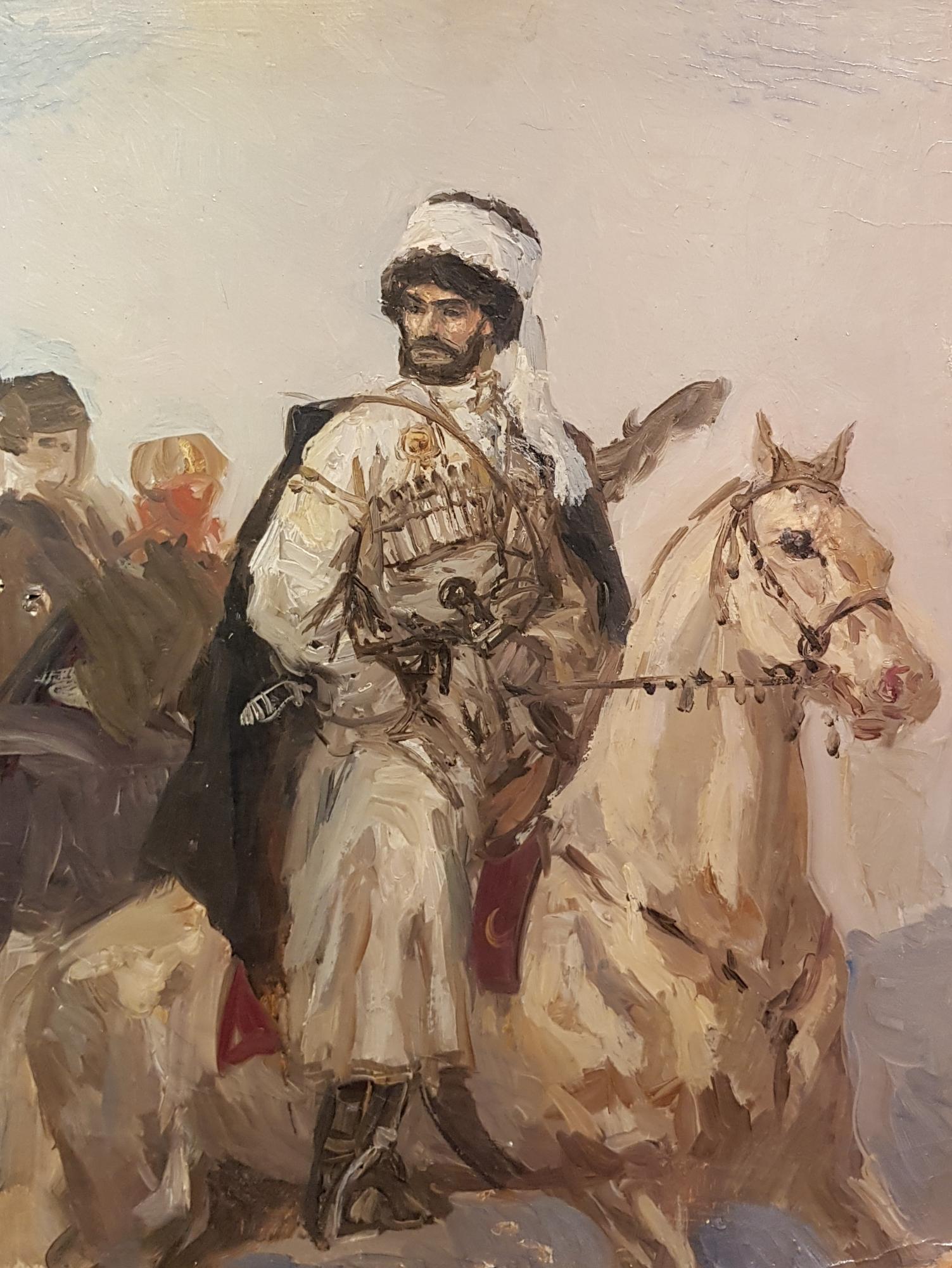 Ванециан Арам Врамшапу. Портрет горца