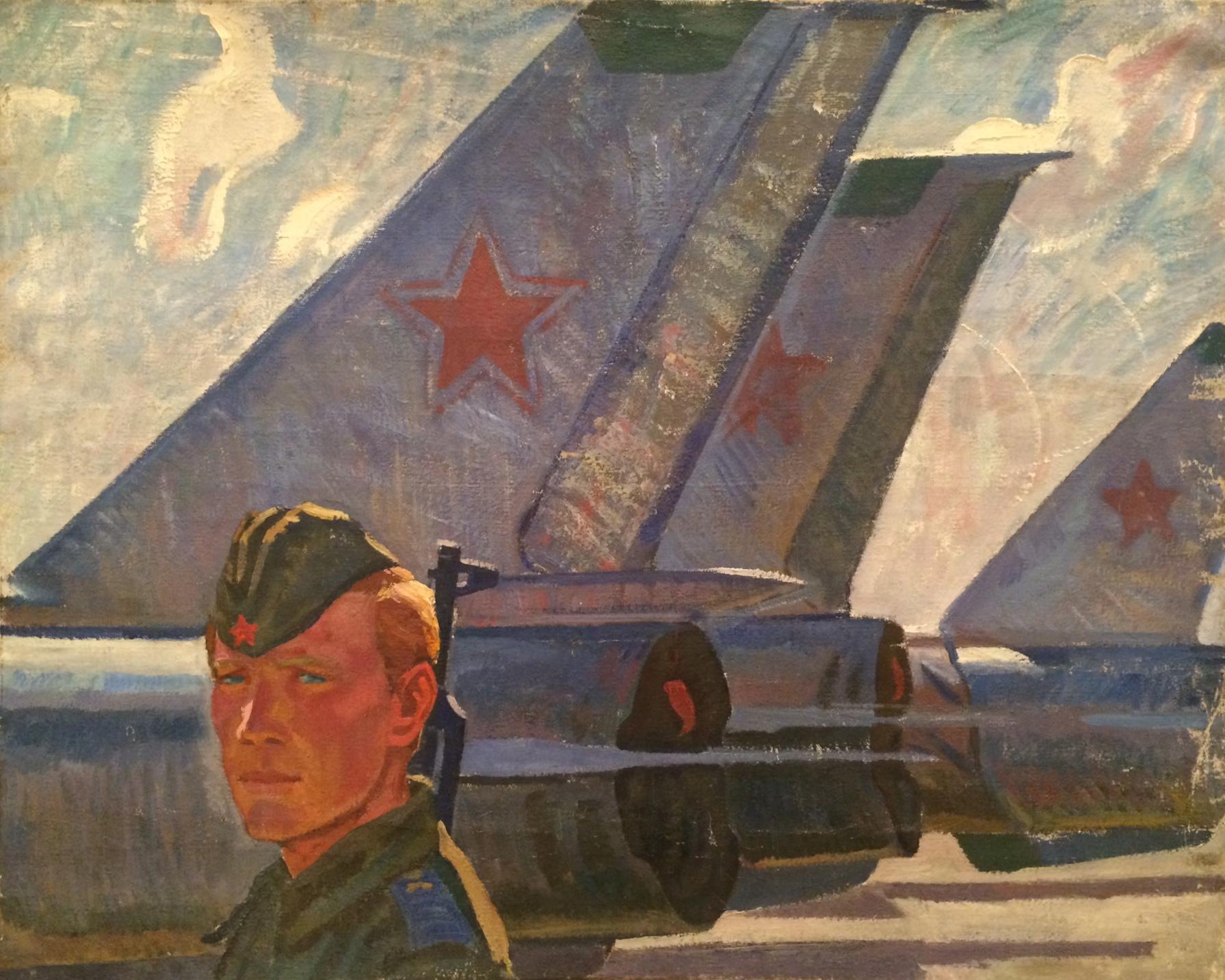 Алексеев Адольф Евгеньевич. На боевом посту