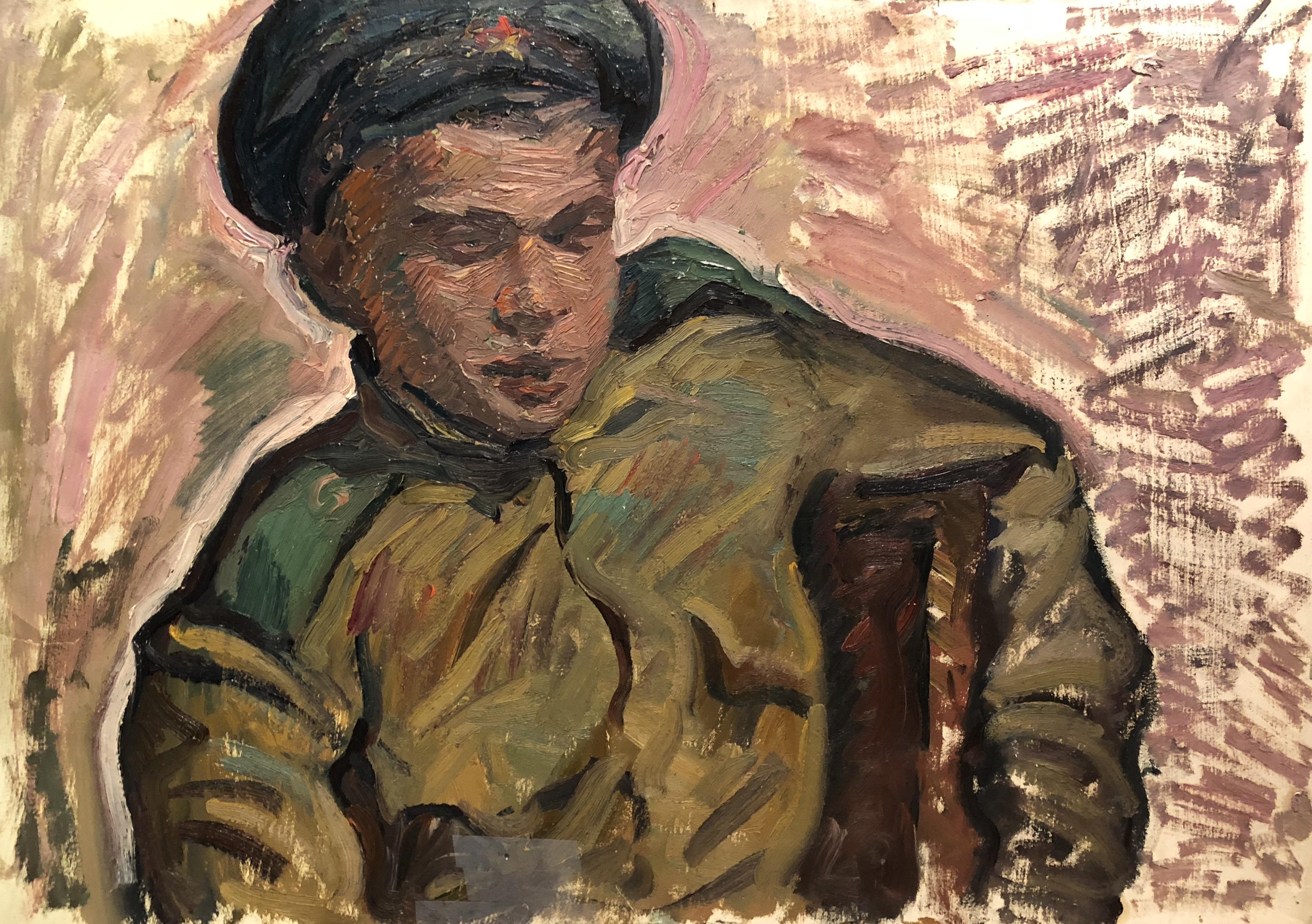 Алексеев Адольф Евгеньевич. Солдат
