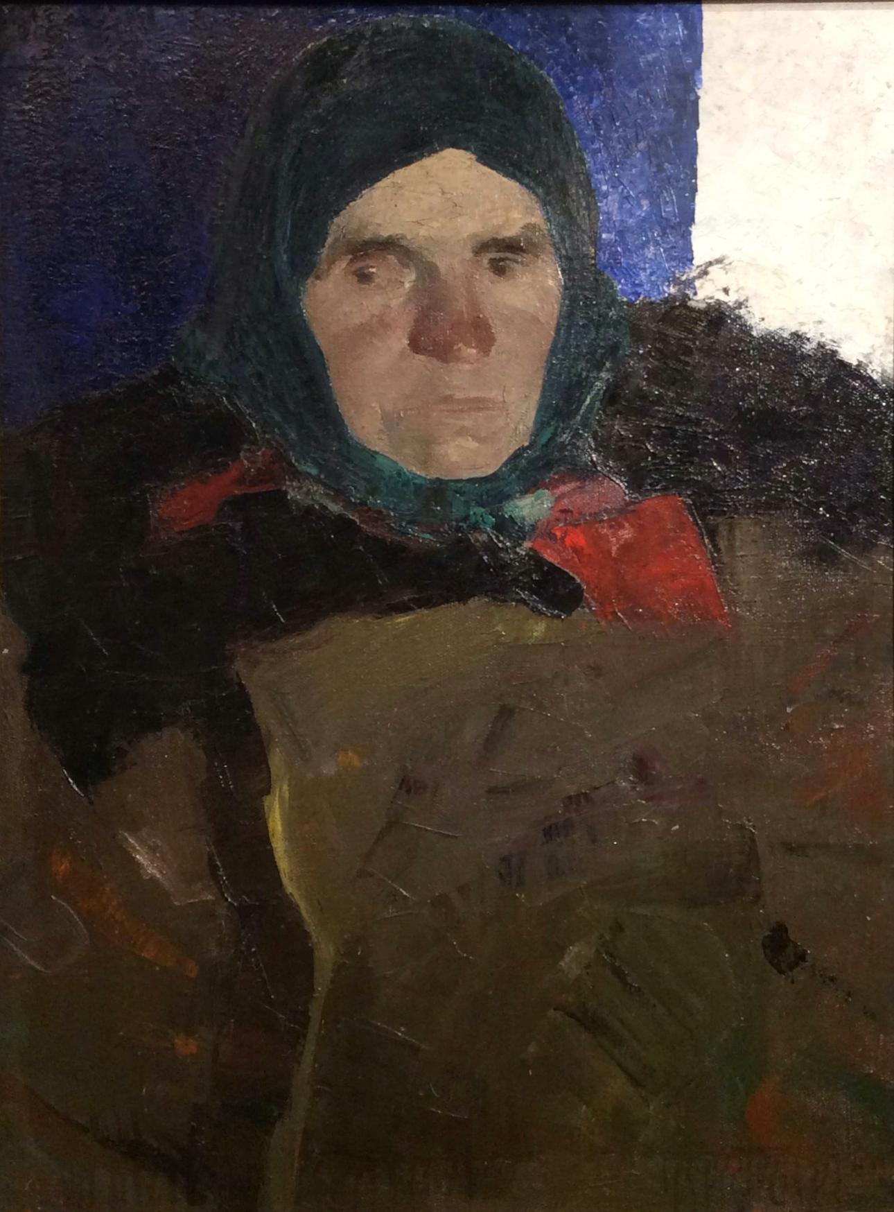 Алексеев Адольф Евгеньевич. Женский портрет