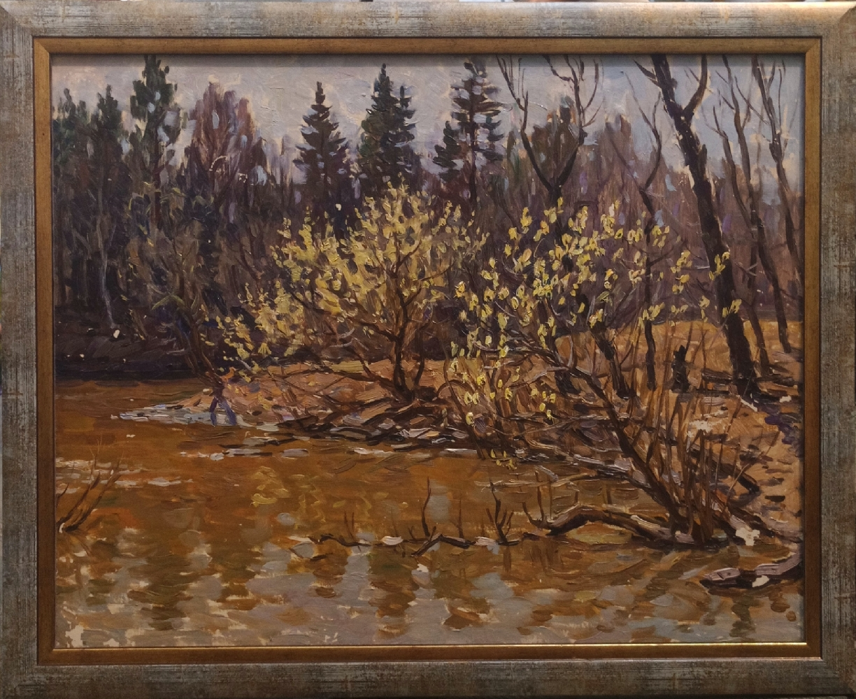 Белков Юрий Сергеевич. Верба цветёт