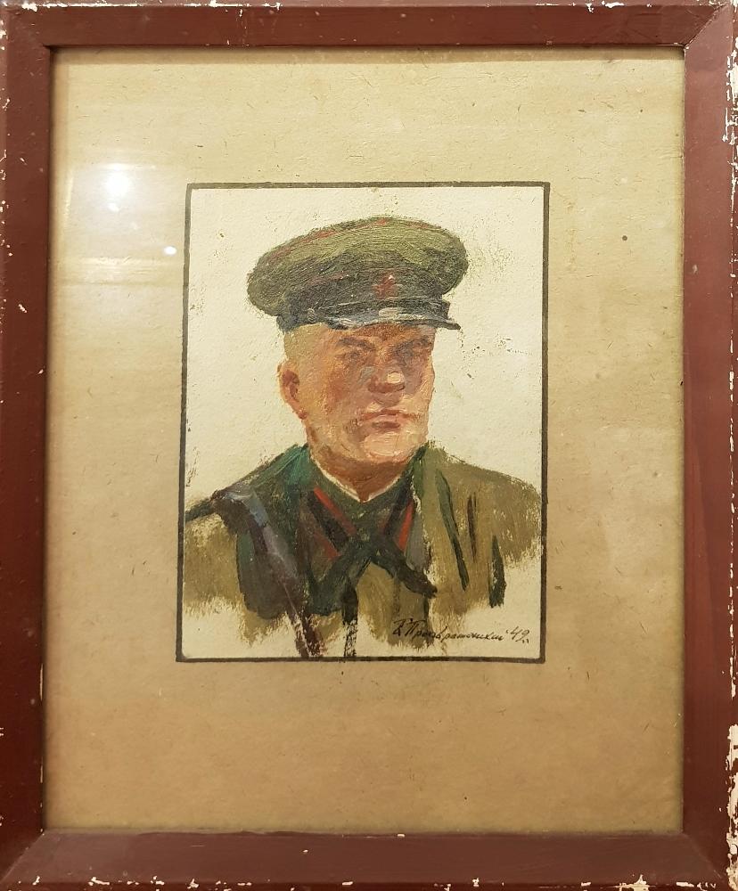 Преображенский Борис Владимирович. Офицер артиллерист.