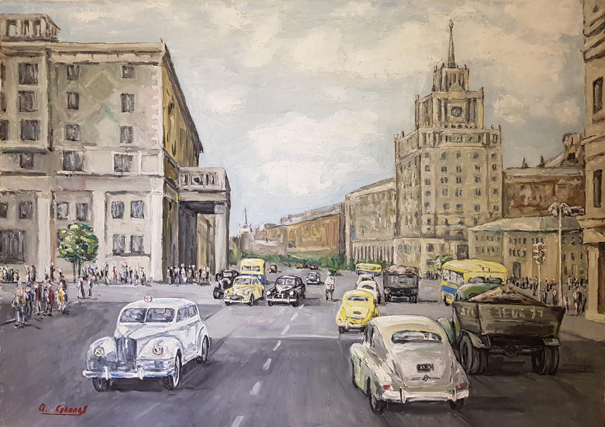 Соколов Андрей Львович. Москва. Маяковская