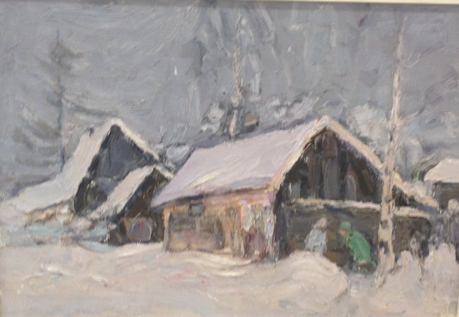 Белов Николай Николаевич. Зима