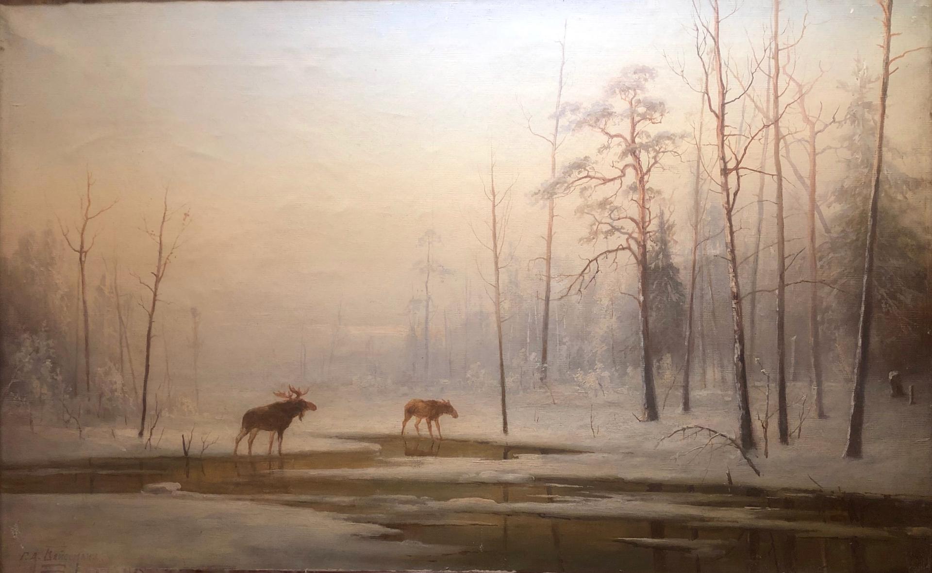 Бейдеман Георгий Александрович. Пейзаж