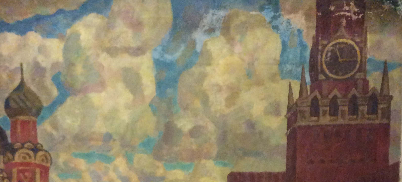 Диков Виктор Петрович. Космонавты на Красной площади. Ю.А. Гагарин, В.В. Терешков, А. Г. Николаев