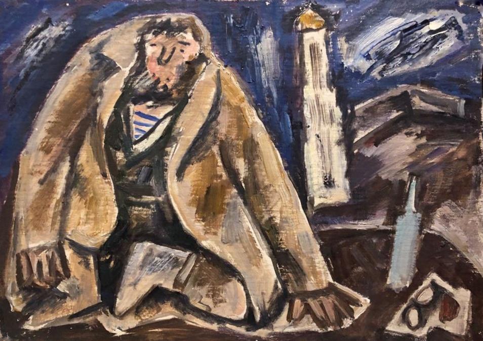 Никонов Михаил Федорович. Эскиз