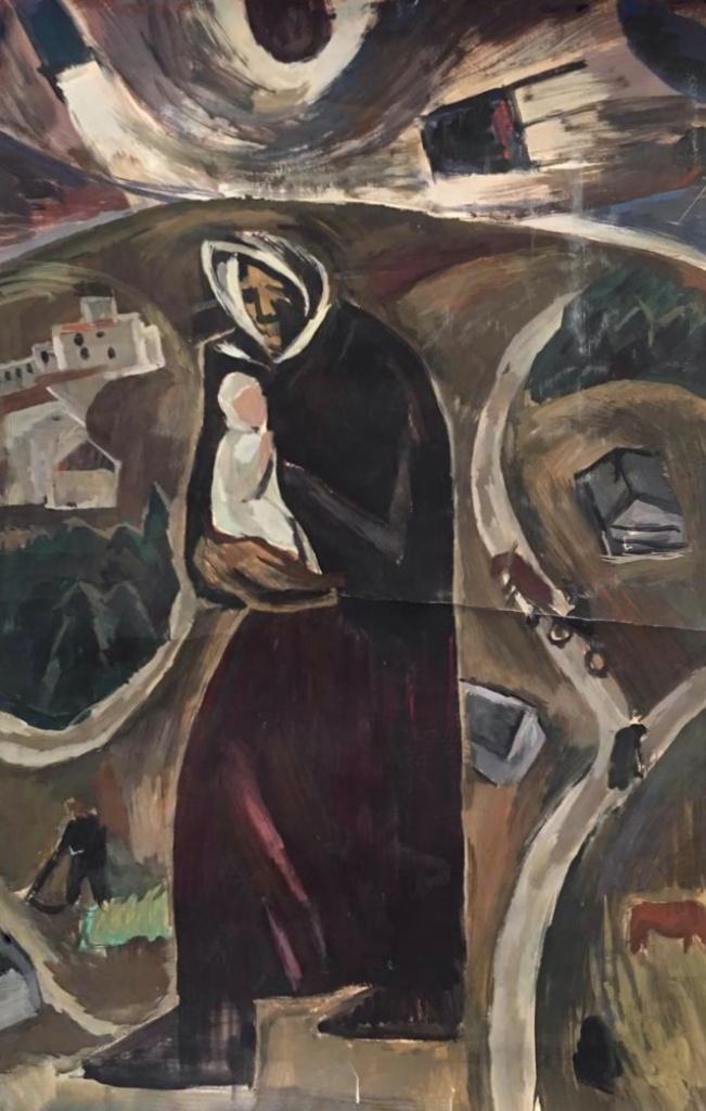 Никонов Михаил Федорович. В деревне с бабушкой