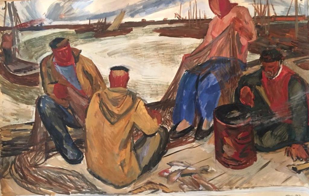 Никонов Михаил Федорович. Рыбаки
