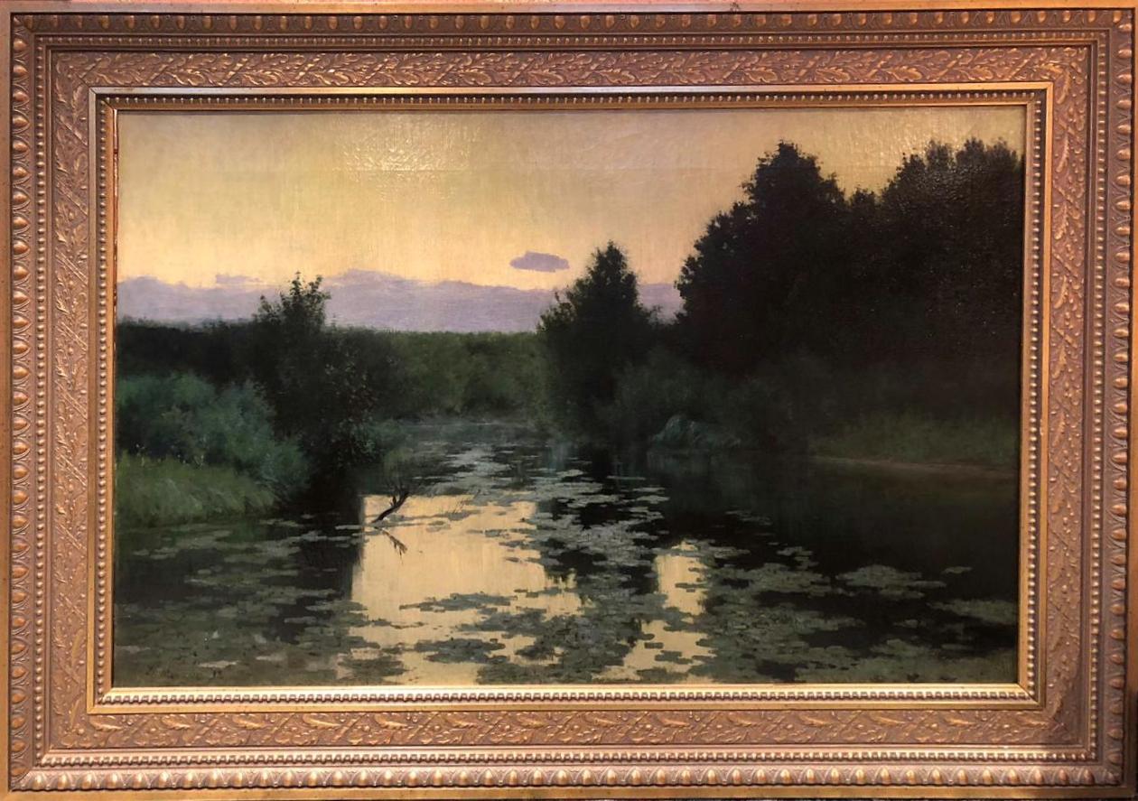 Мартен Дмитрий Эмильевич. Старый пруд