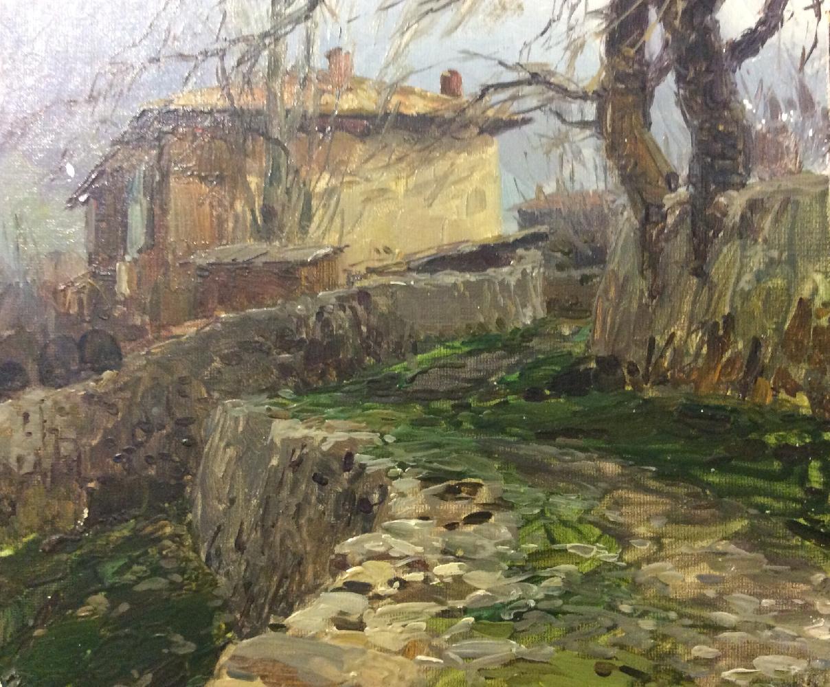 Мальцев Петр Тарасович. Старое дерево
