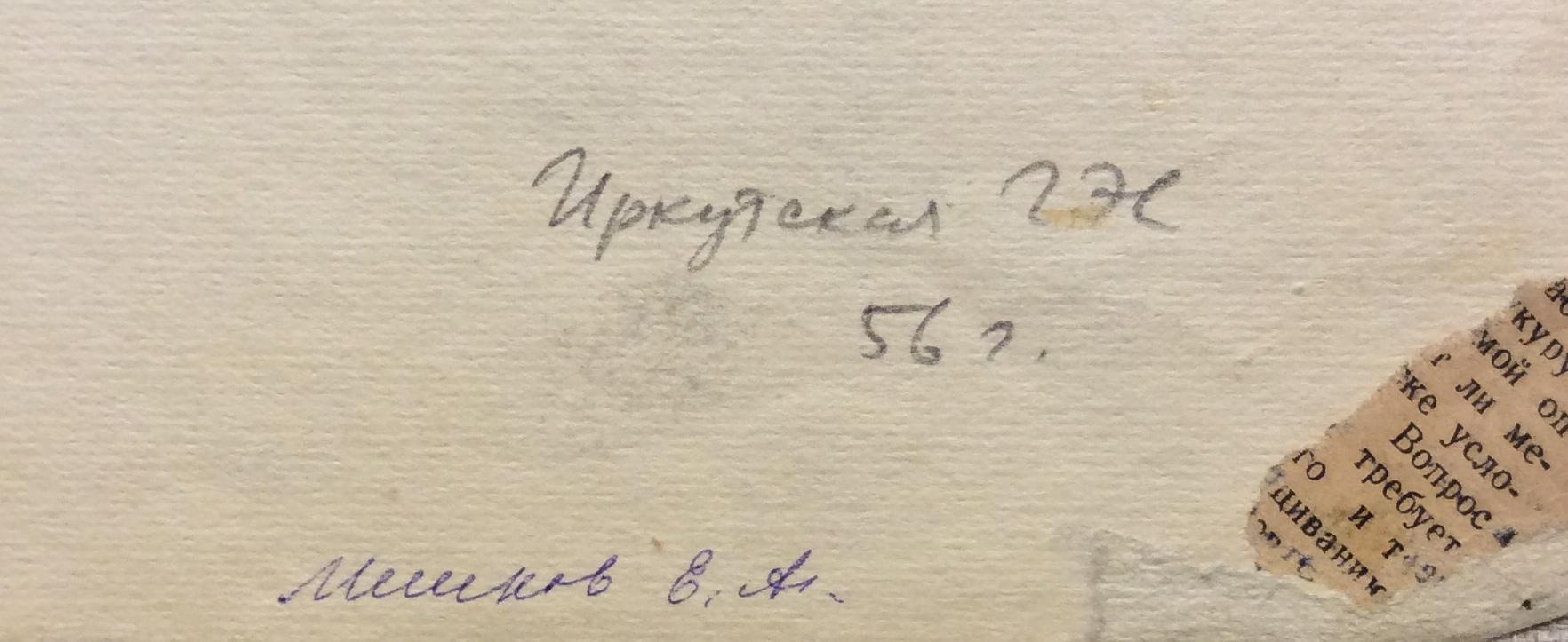 Мешков Евгений Алексеевич. Серия