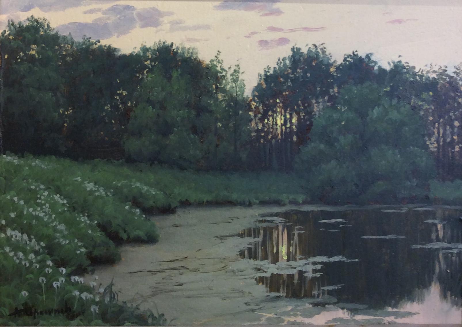 Герасимов Андрей Викторович. Вечер на пруду