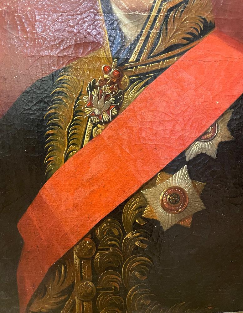 Каневский Ян Ксаверий. Портрет графа С. С. Уварова, президента Императорской Академии наук