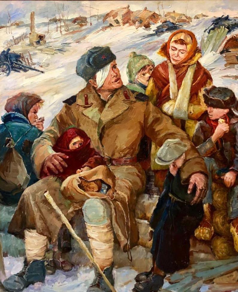 Мищенко Г.Н.. Дети войны