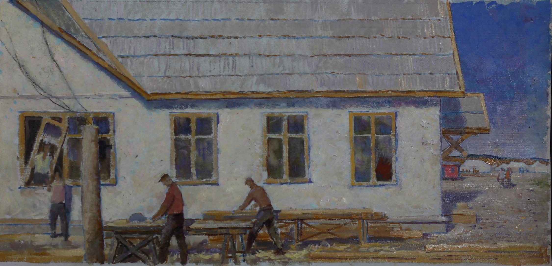 Богданов Михаил Александрович. Плотники