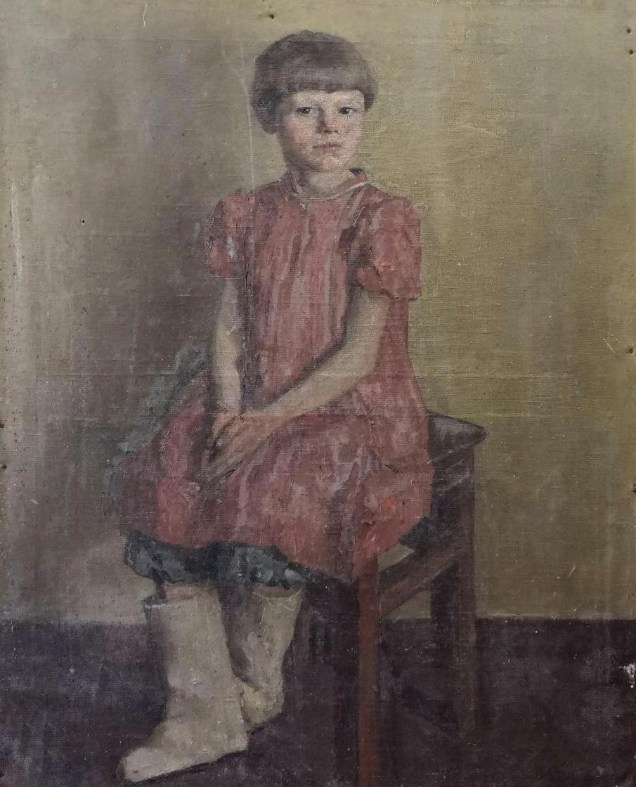Малагис Владимир Ильич. Дочь колхозника Нина Преснухина