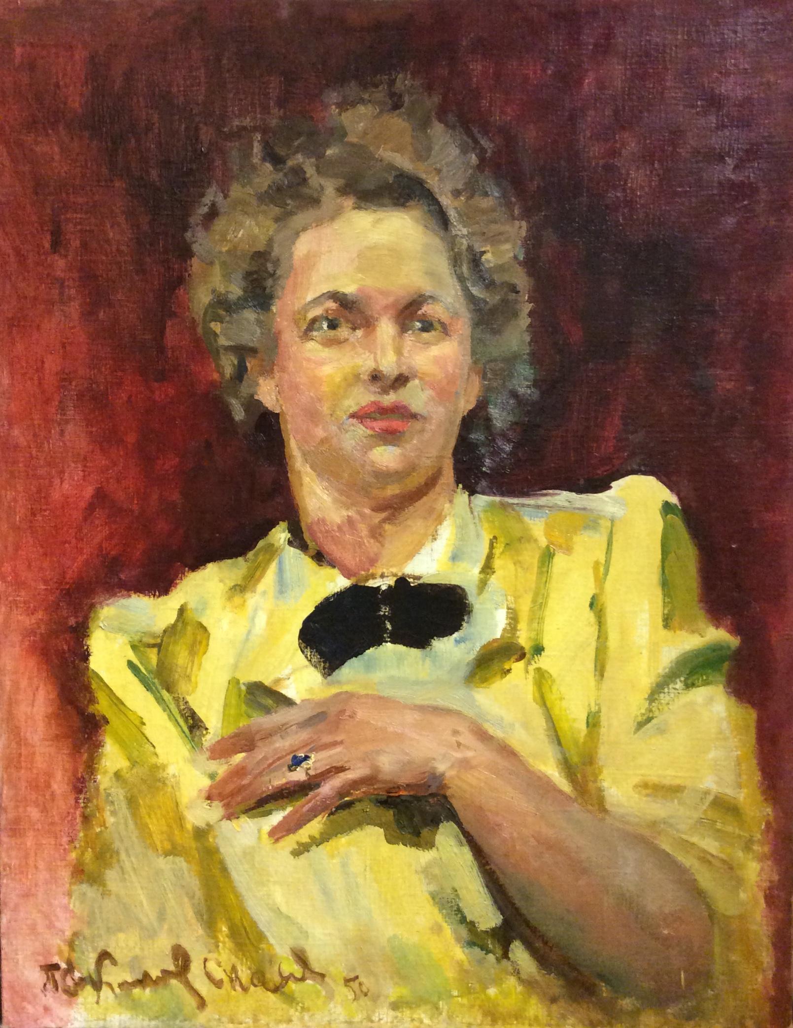 Соколов-Скаля Павел Петрович. Портрет жены художника.
